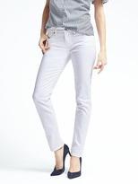 Banana Republic Stay White Slim-Straight Jean