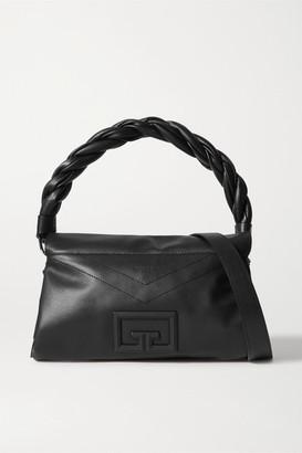 Givenchy Id93 Medium Leather Shoulder Bag - Black
