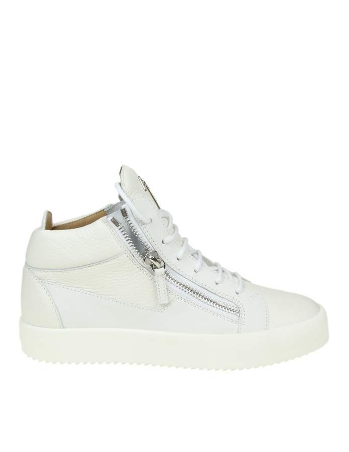 Giuseppe Zanotti may Sneakers In White Leather