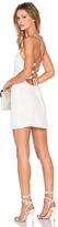 NBD x REVOLVE Lauren Bodycon Dress in White. - size L (also in )
