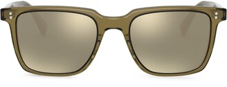 Oliver Peoples Lachman square-frame sunglasses