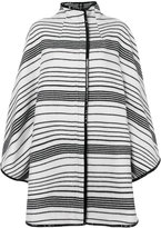 Gianluca Capannolo striped cape