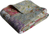 GREENLAND HOME FASHIONS Greenland Home Fashions Blooming Prairie Quilted Cotton Throw