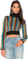 Diane von Furstenberg Turtleneck Crop Sweater