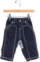 Petit Bateau Boys' Straight-Leg Cargo Pants