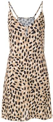 Track & Field leopard print Selvagem dress