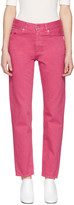 Acne Studios Pink Boy Jeans