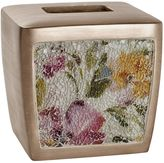 India Ink Watercolor Floral Tissue Box Cover