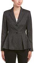 Vince Camuto Women's Tweed Peplum Blazer