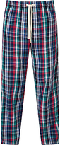 John Lewis Yate Bright Check Lounge Pants, Blue