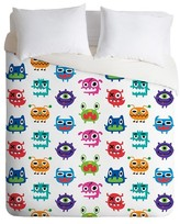 DENY Designs Andi Bird Monstrous Monsters Duvet Cover