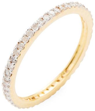 ADORNIA Fine 14K 0.35 Ct. Tw. Diamond Eternity Ring