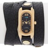 La Mer Women's Black Gold Soho Watch