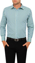 Van Heusen Crisp Bold Gingham Check Euro Fit Shirt