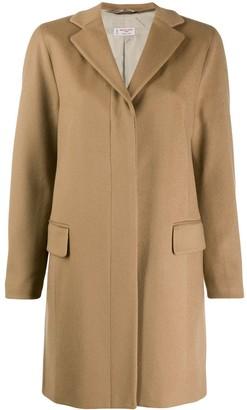 Alberto Biani concealed front coat