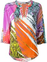 Etro abstract print top