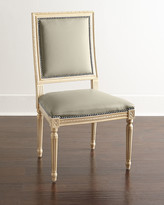 Horchow Massoud Ingram Leather Dining Chair, D2