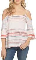1 STATE 1.STATE Bell Sleeve Cold Shoulder Blouse