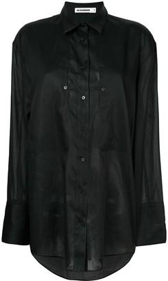 Jil Sander Oversized Button Shirt