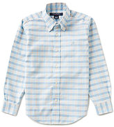 Brooks Brothers Little/Big Boys 4-20 Plaid Oxford Shirt