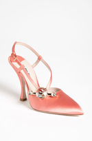 Miu Miu Jewel Pointed Toe Pump