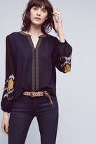 Vanessa Virginia Lucania Embroidered Blouse