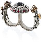 Alexander McQueen Queen and King Double Ring