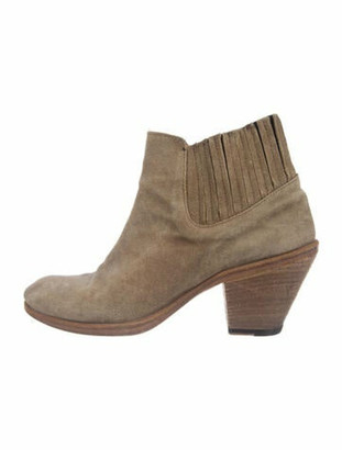 Fiorentini+Baker Suede Boots Brown