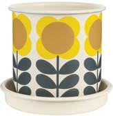 Orla Kiely Big Spot Flower Plant Pot - Medium
