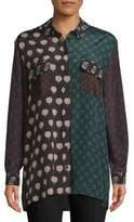 Lanvin Haut Printed Button-Down Shirt