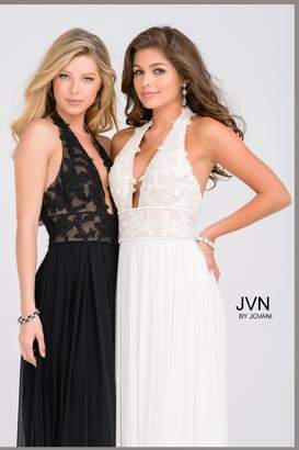 Jovani Black Lace Gown
