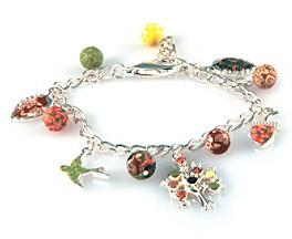 Charm & Chain Viva Beads® Charm Chain Bracelet - New Harvest