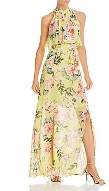 Brinker & Eliza Printed Popover Maxi Dress