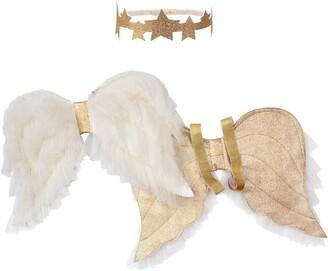 Meri Meri Costume Angel Wings & Headband Set