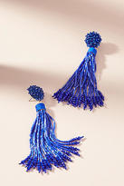 Anthropologie Kennedy Tassel Drop Earrings