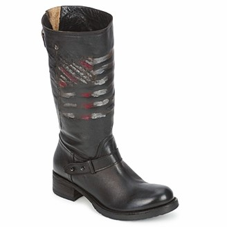 Strategia ENRO women's Mid Boots in Black