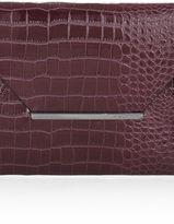 BCBGMAXAZRIA Harlow Crocodile Envelope Clutch