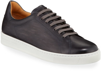 Magnanni Men's Low-Top Leather Sneakers