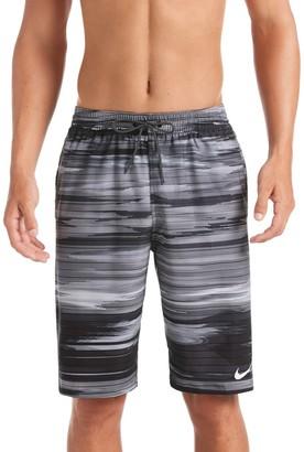 """Nike Men's Sky Stripe Vital 11"""" Volley Shorts"""