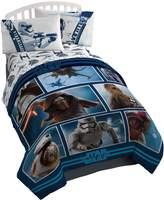 Star Wars Ep7 Live Action Blue Reversible Comforter