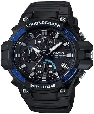 Casio Men's MCW-110H-2AVCF Heavy Duty Analog-Digital Display Quartz Black Watch