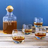 Cathy's Concepts Cathys concepts 5-pc. Monogram Bourbon Decanter Set