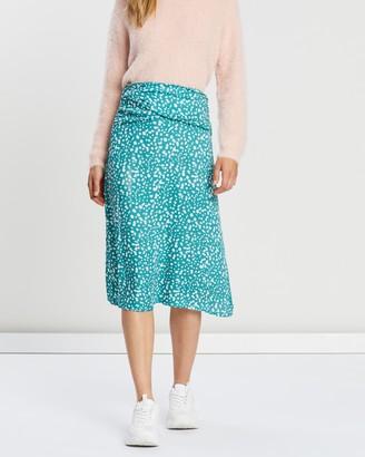 All About Eve Mini Bloom Twist Skirt
