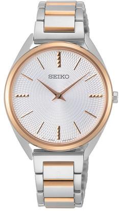 Seiko Ladies Two Tone Dress Watch