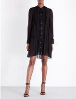 The Kooples Muslin silk-blend dress
