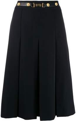Celine Pre-Owned 1970 pleated skirt