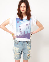 Wildfox White Label I Love Los Angeles Tee