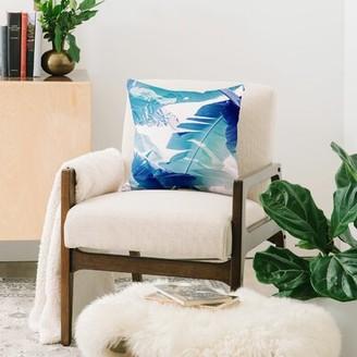 "East Urban Home Ann Hudec Indoor/Outdoor Floral Throw Pillow Size: 20"" x 20"""