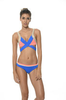 Malai Swimwear 2017 Malai Swimwear - French Blue Pallet Blocks Waistband Bottom B00274