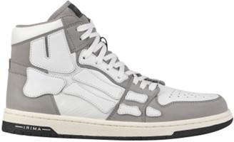 Amiri Men's Skeleton Leather High-Top Sneakers